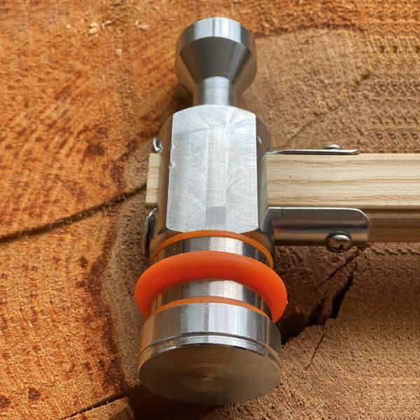 Молоток для маркировки древесины  подходит для использования со всеми типами бирок для маркировки древесины