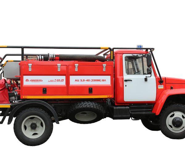 автоцистерна пожарная